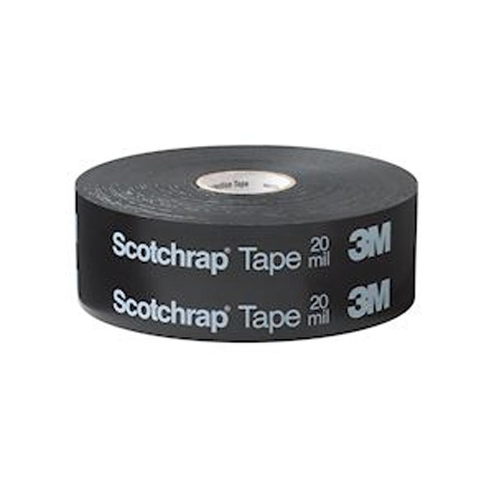 3m france - TRM80061 - 3M 80061 - 3M Scotchrap 50TT Ruban anticorrosion Noir 30,4m x 50mm ep. 0,25mm