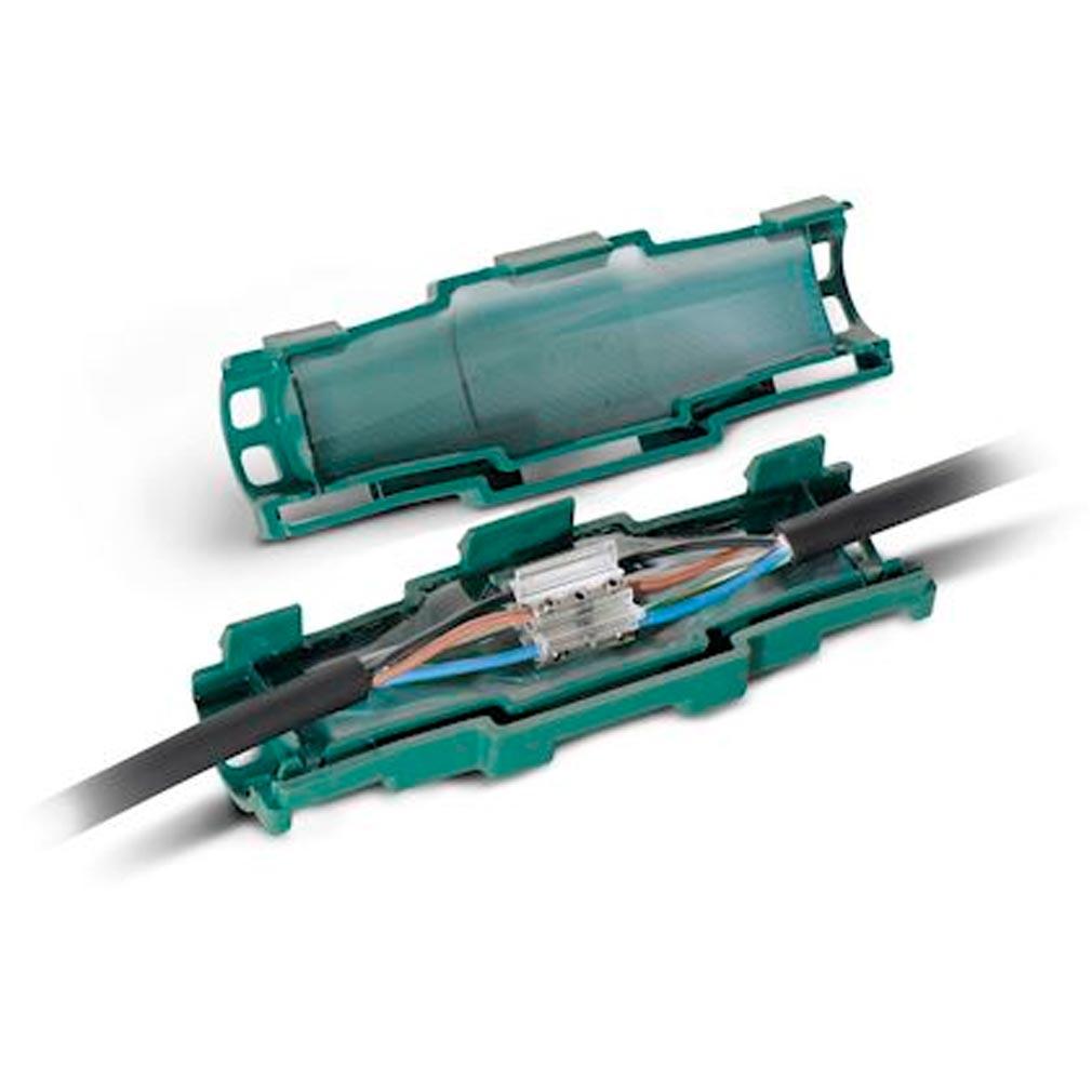 3m france - TRM82300 - 3M 82300 - Kit de raccordement démontable DBC-3C avec gel + connecteur 5x2,5 à 5x16 mm²