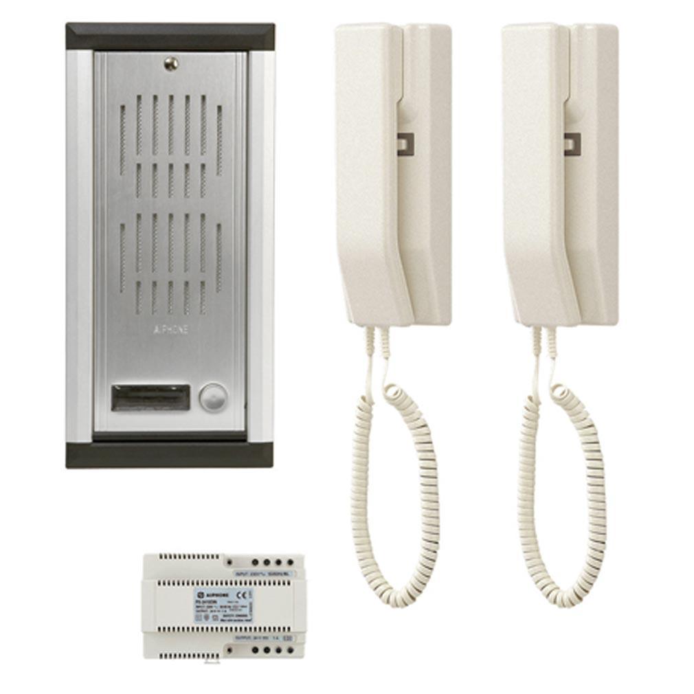 Aiphone - AIP100220 - AIPHONE 100220 - KA3 - Portier audio encastré 2 combinés extensibles