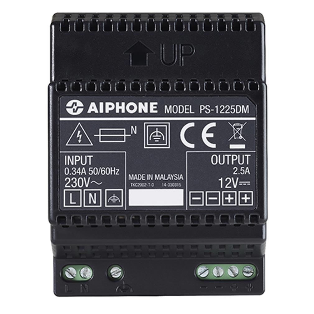Aiphone - AIP110915 - AIPHONE PS1225DM - 110915 - Alimentation 230 Vac /12 Vcc - 2,5 A