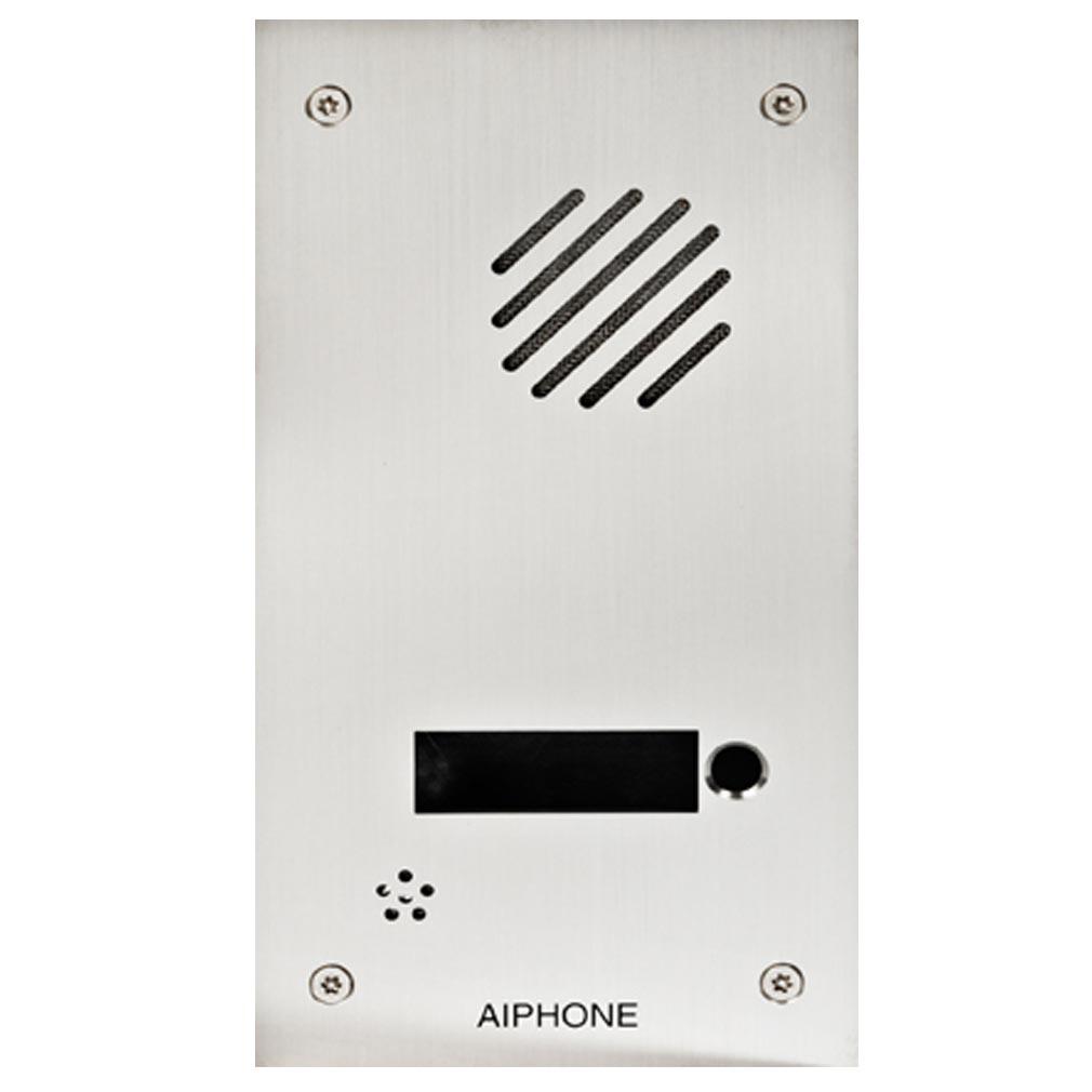 Aiphone - AIP118718 - FDB1 Façade inox 1 appel pour DA1DS