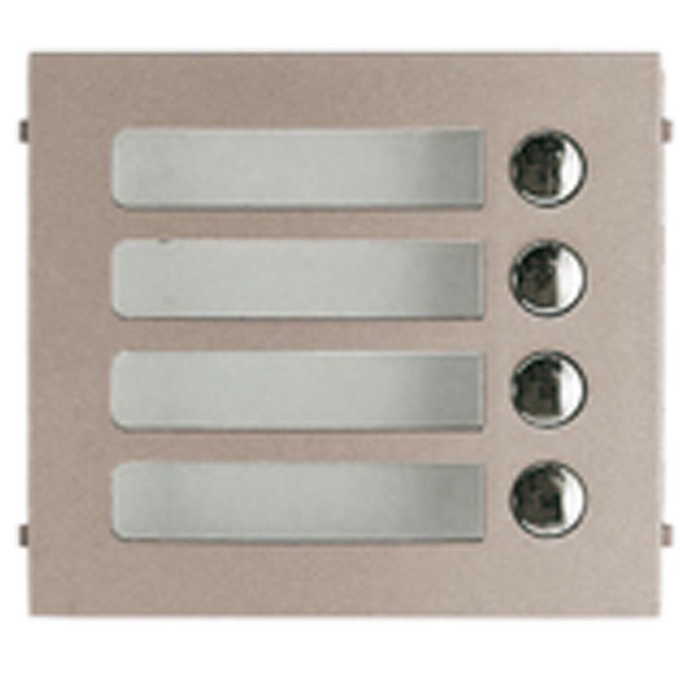 Aiphone - AIP120005 - GF4P Façade 4 Boutons d'appel