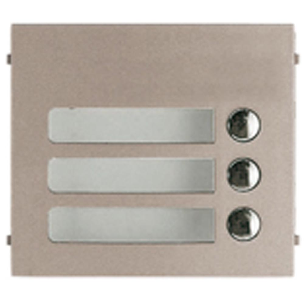 Aiphone - AIP120006 - GF3P Façade 3 Boutons d'appel