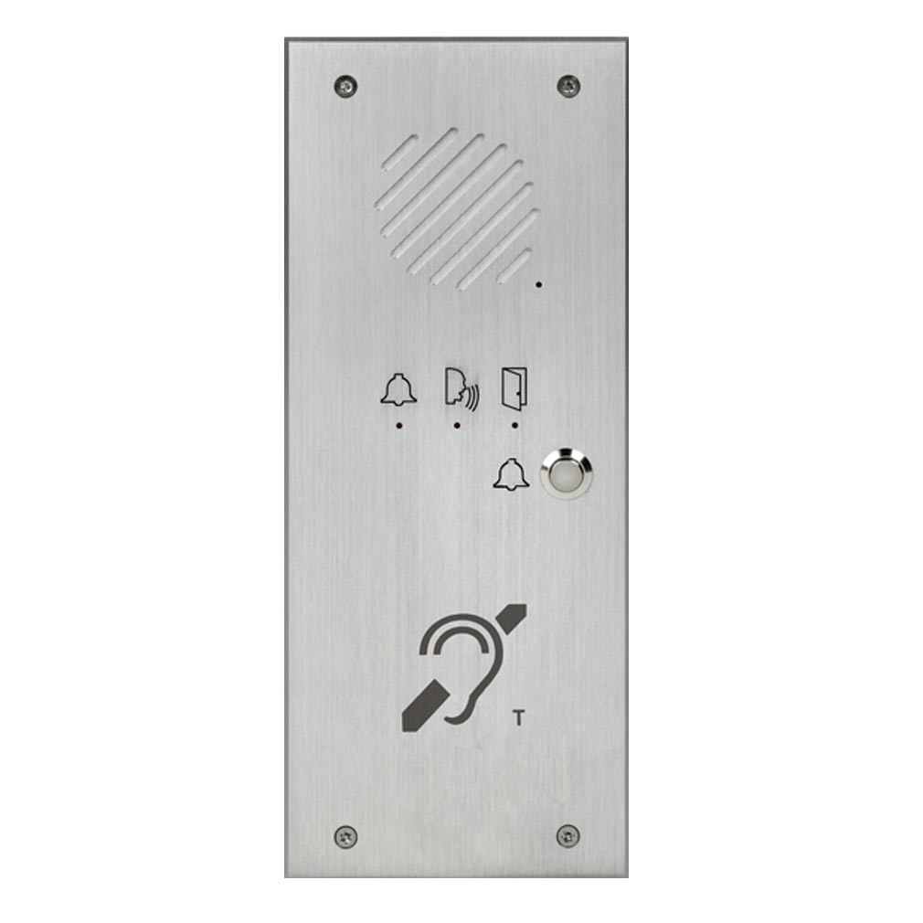 Aiphone - AIP120622 - AIPHONE TLI1BM - 120622 - Platine de rue téléphonique 1 appel avec boucle magnétique
