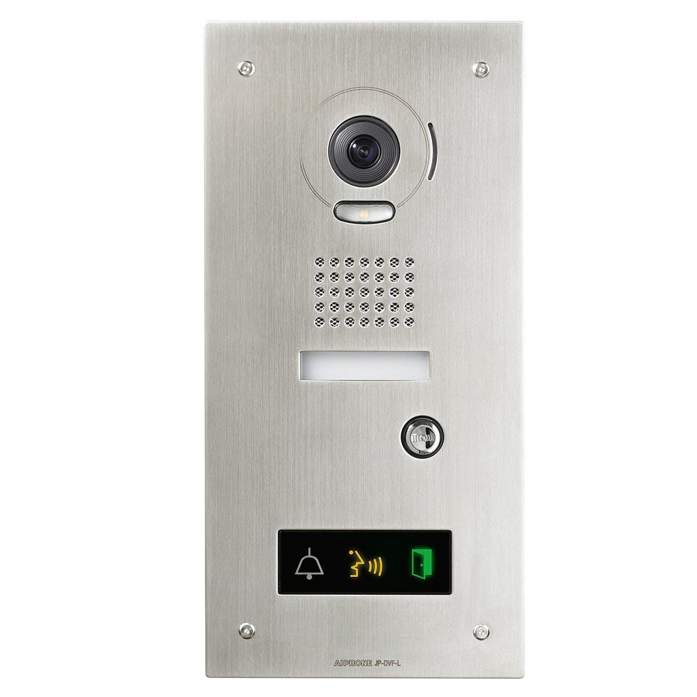 Aiphone - AIP130317 - JPDVFL Platine vidéo couleur encastrée résistante au vandalisme accessibilité pour JP4MED