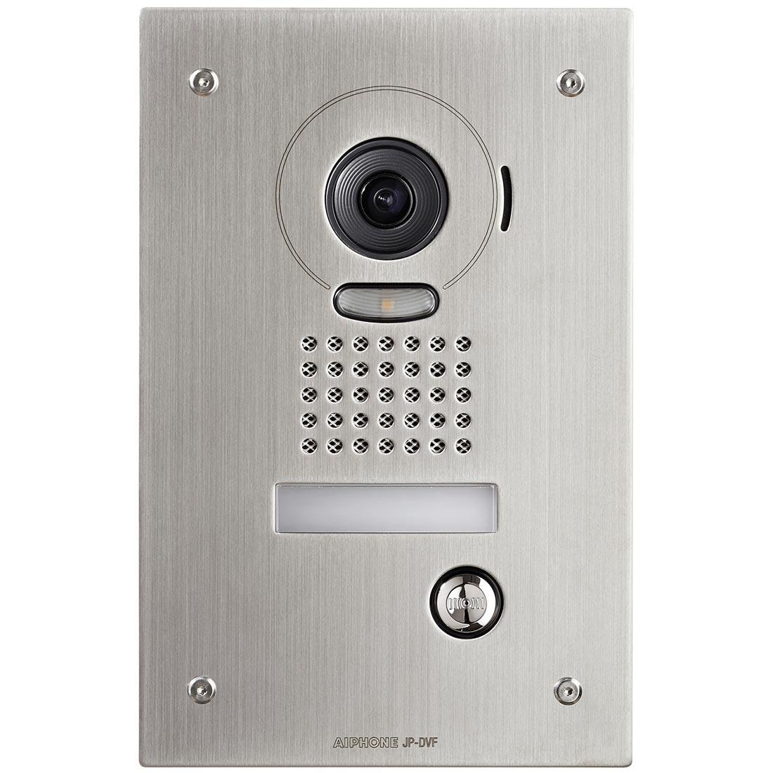 Aiphone - AIP130321 - AIPHONE AIP130321 - JPDVF - Platine vidéo couleur encastrée inox résistante au vandalisme