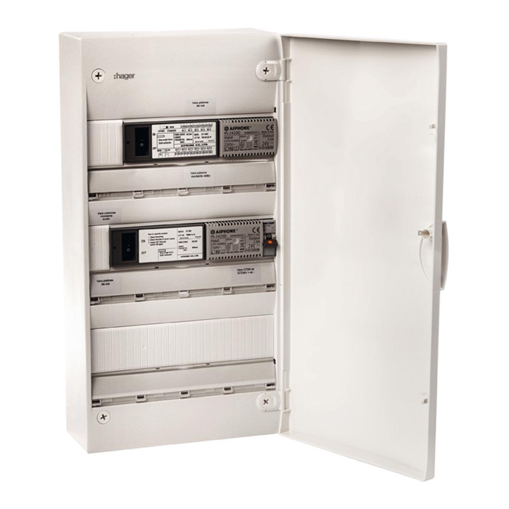Aiphone - AIP200030 - AIPHONE GTMCV313 - 200030 - Tableau monté-câblé 3 x 13 modules vidéo GT