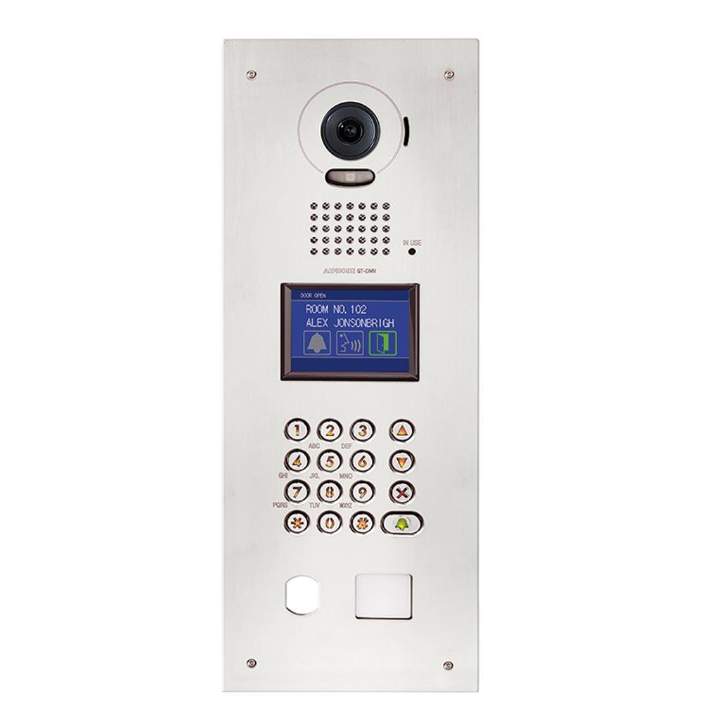 Aiphone - AIP200248 - GTDMVA Platine de rue monobloc inox vidéo couleur percée T25 - caméra pour moniteur 7''