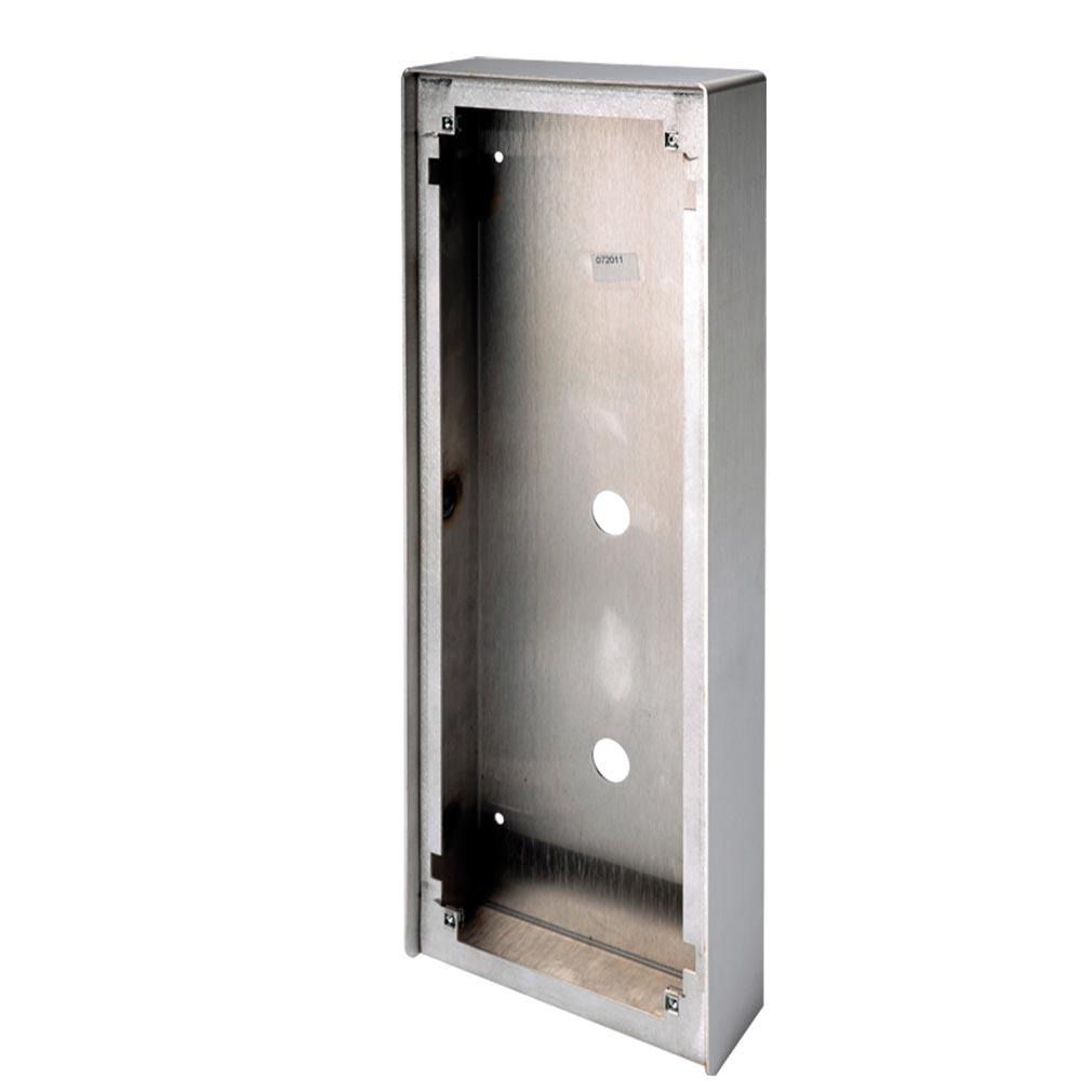 Aiphone - AIP200271 - AIPHONE 200271 - GT104HBI - Cadre saillie inox avec visière pour platine monobloc GTDMBLVN