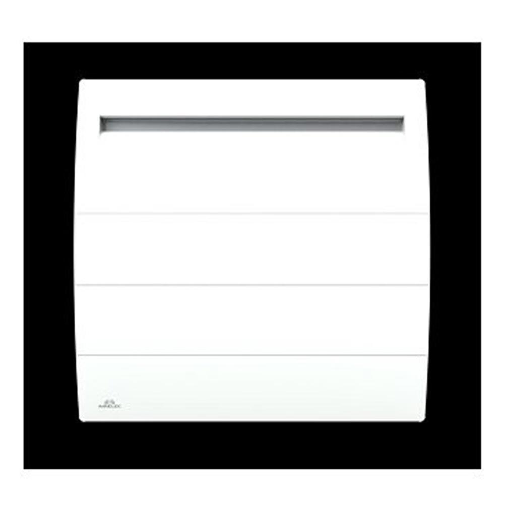Airelec - AIRA693813 - Radiateurs à inertie Airélec Novéo 2 Digital prog Horizontal 1000 W Blanc