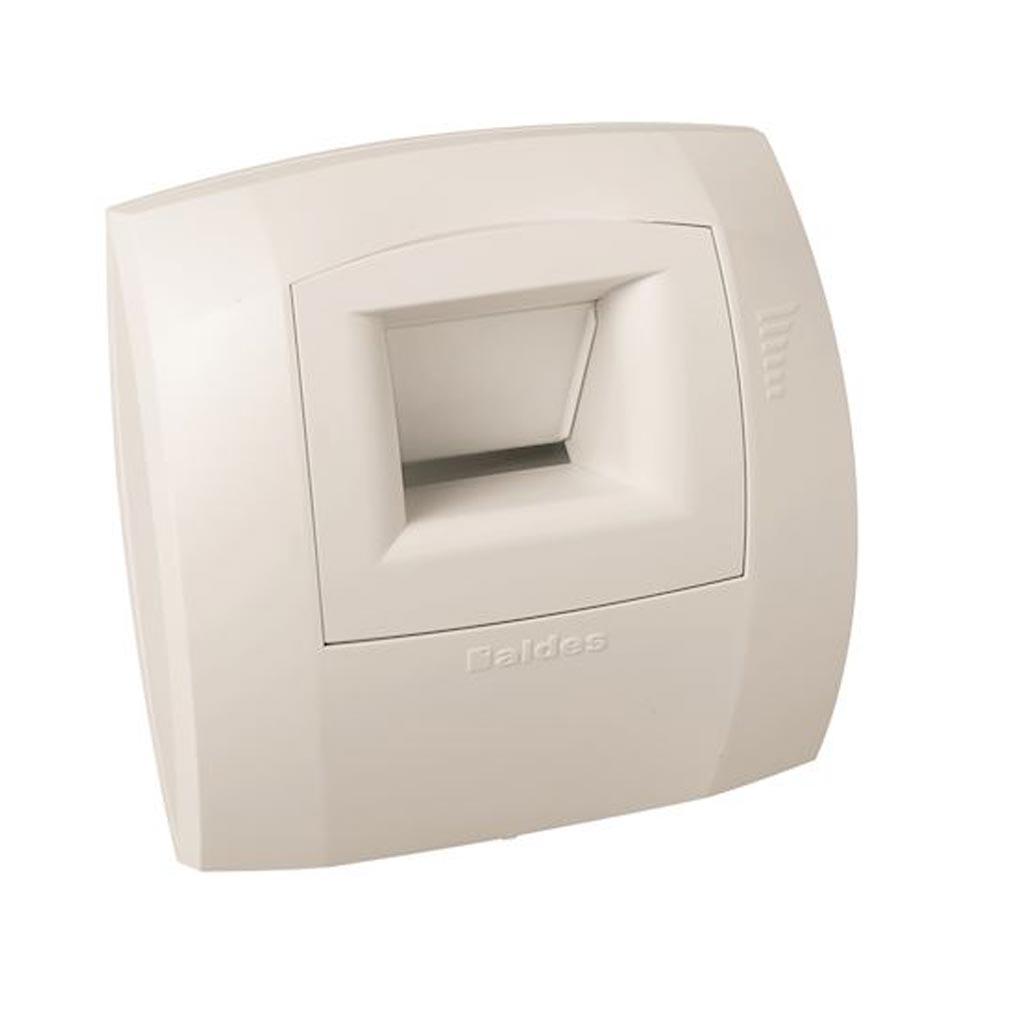 Aldes - ALD11015475 - ALDES 11015475 -  Bouche hygroréglable WC W13 Curve S 5/30 D 80 mm présence - Blanc