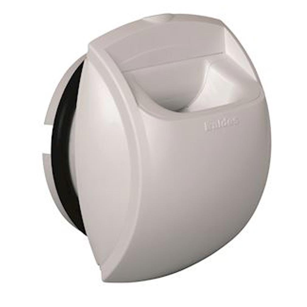 Aldes - ALD11019004 - ALDES 11019004 - Bouche autoréglable Bap'SI 30 m3/h D125 mm - Blanc
