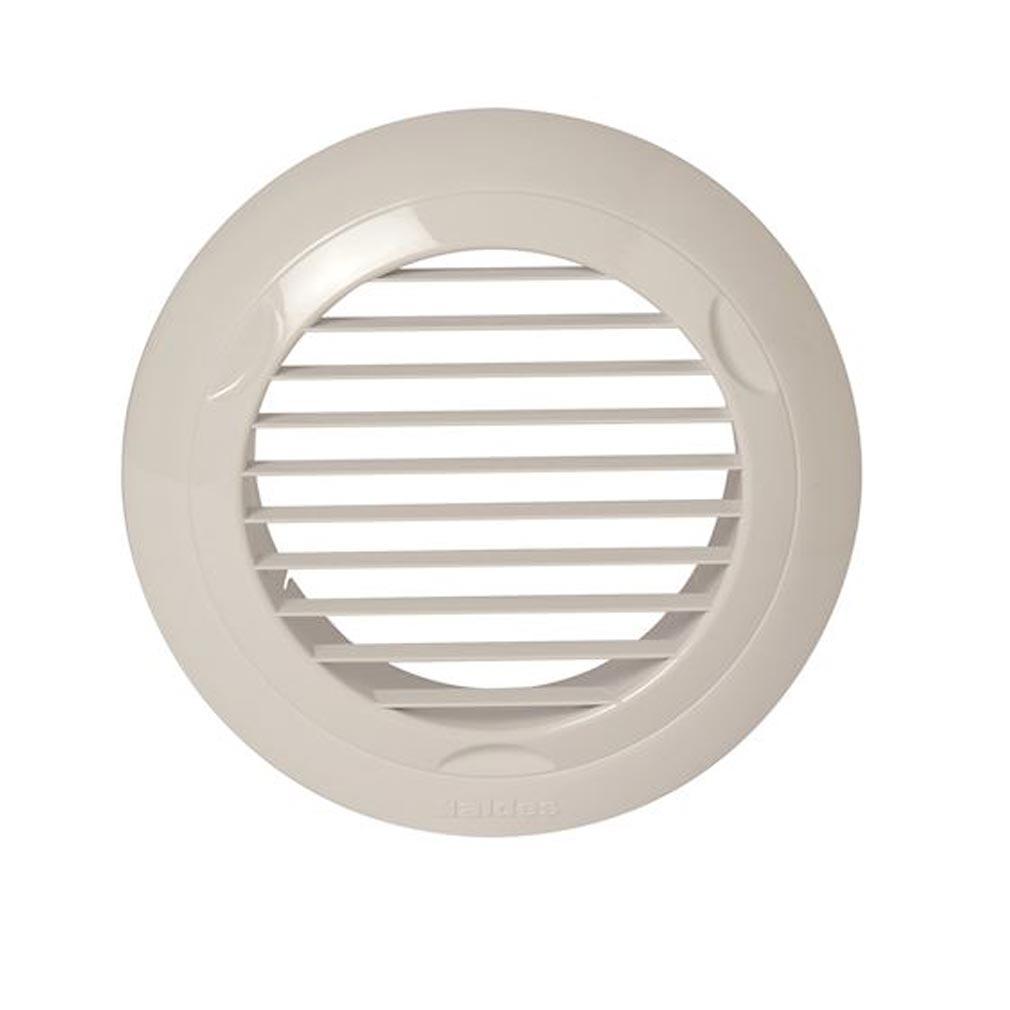 Aldes - ALD11022073 - ALDES 11022073 - Grille plastique fixe BIP D 80 mm - Blanc