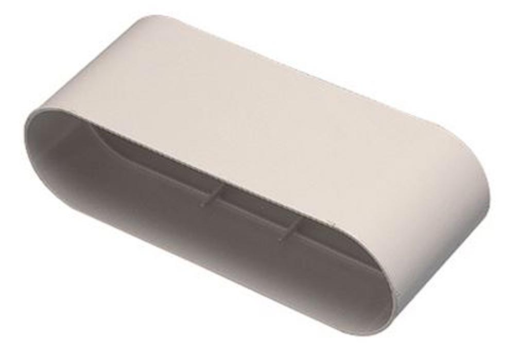 Aldes - ALD11023970 - ALDES 11023970 -  Raccord Minigaine blanc droit équivalent D125 (60x200)