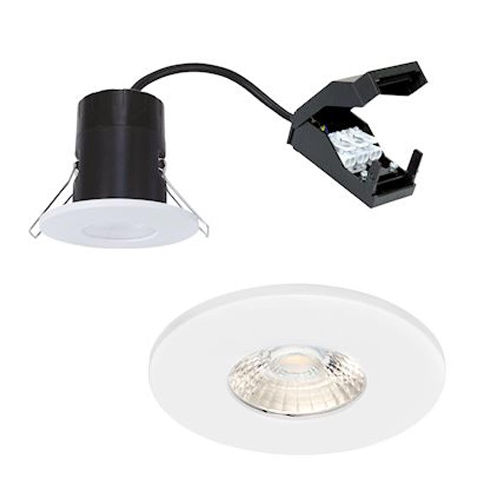 Aric - ARI11001 - ARIC 11001 - EF6 - Enc. IP20/65 LED 6W 3000K 540lm 40DEG, recouvrable et dimmable