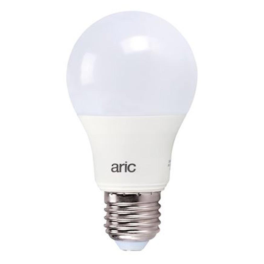 Aric - ARI20014 - ARIC 20014 - Lampe standard E27 LED 9W 4000K 820lm, Cl.énerg. A+, 15000H