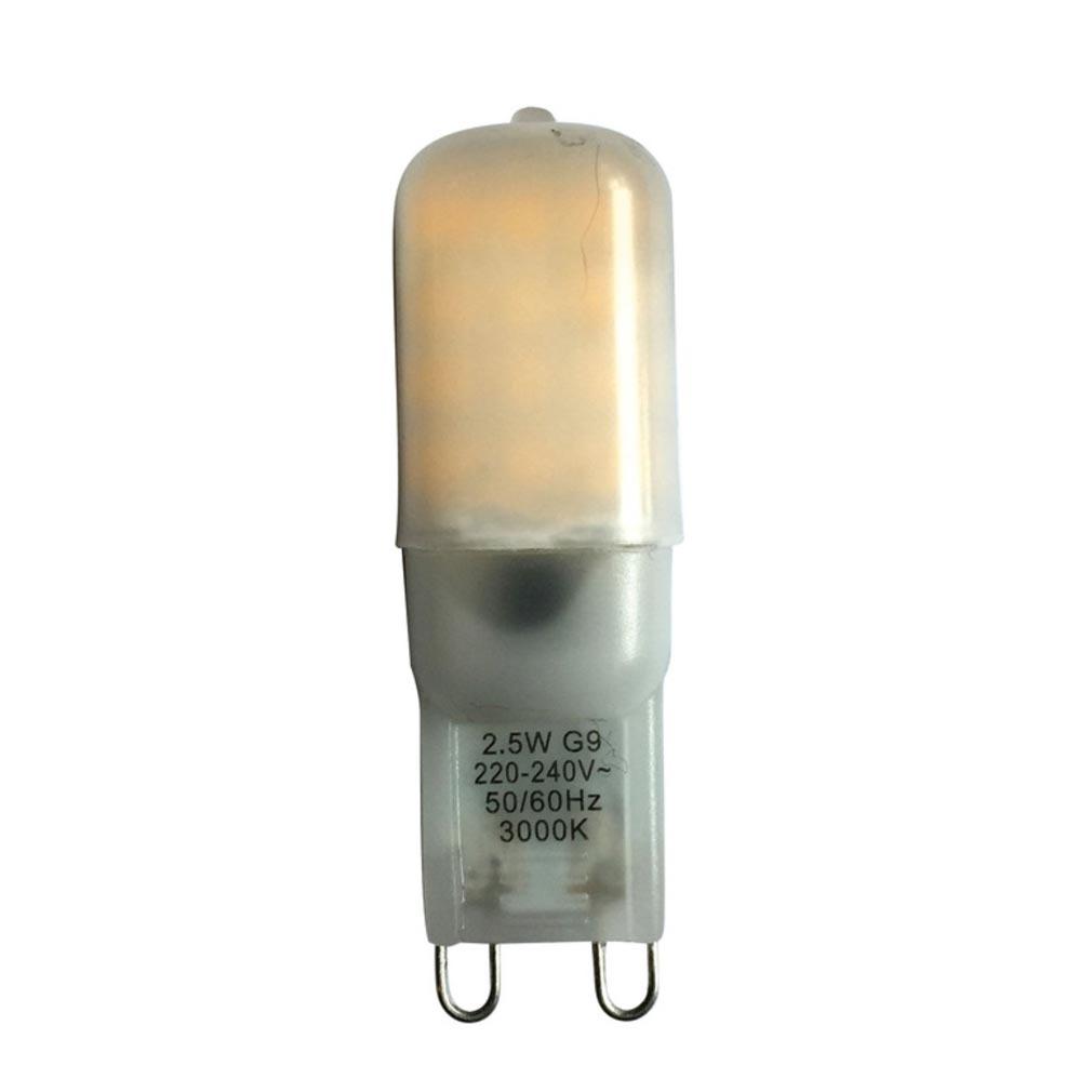 Aric - ARI2551 - ARIC 2551 - Lampe G9 230V LED 2, 5W 3000K 230 lumens, classe énergétique A++, 20000H