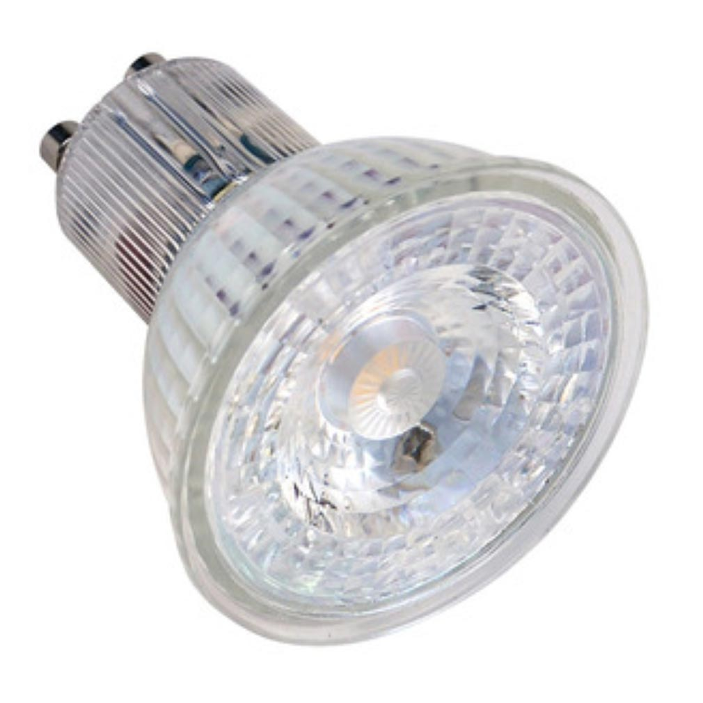 Aric - ARI2890 - ARIC 2890 - Lampe GU10 GLASS LED 4W 3000K 400 lumens, classe énergétique A++, 25000H