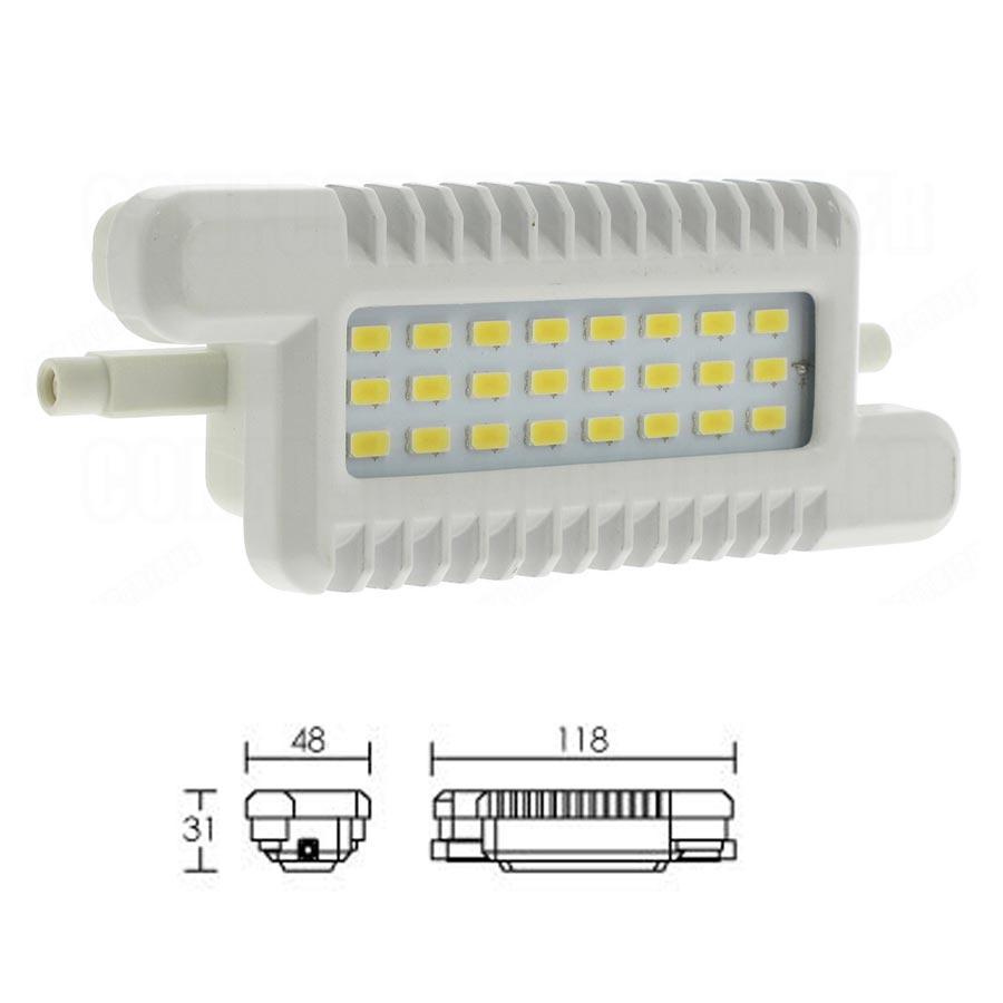 Aric - ARI2932 - ARIC 2932  - LAMPE LED SMD R7S 8W/4000 118MM