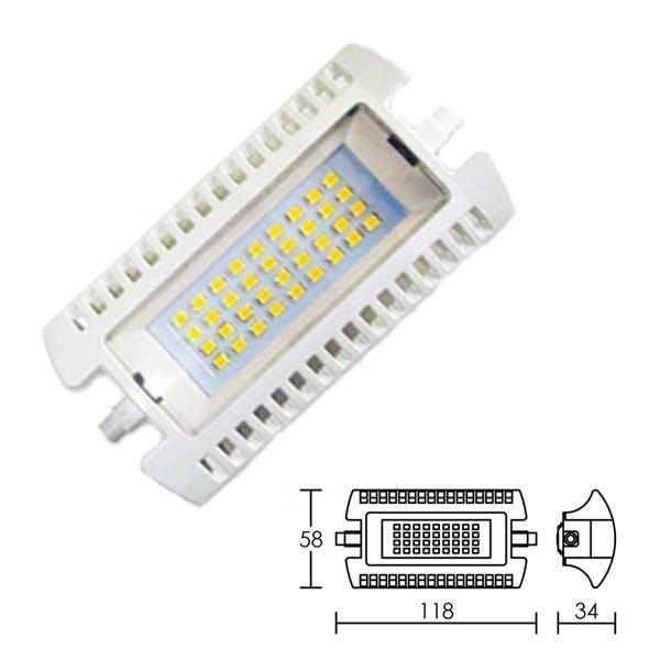 Aric - ARI2951 - ARIC 2951 - Lampe R7s 118mm, 110DEG, LED 12W 4000K 1200 lumens, classe énergétique A+, 35000H