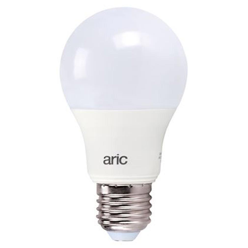 Aric - ARI2956 - ARIC 2956 - Lampe standard E27 LED 9,5W 2700K 806 lumens, classe énergétique A+, 15000H