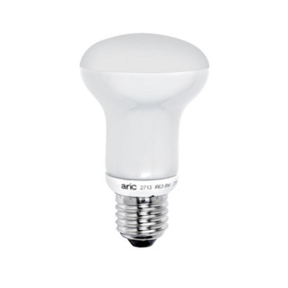 Aric - ARI2964 - ARIC 2964 - Lampe réflecteur D=63 E27 LED 9W 2700K 850 lumens, classe énergétique A+, 35000H