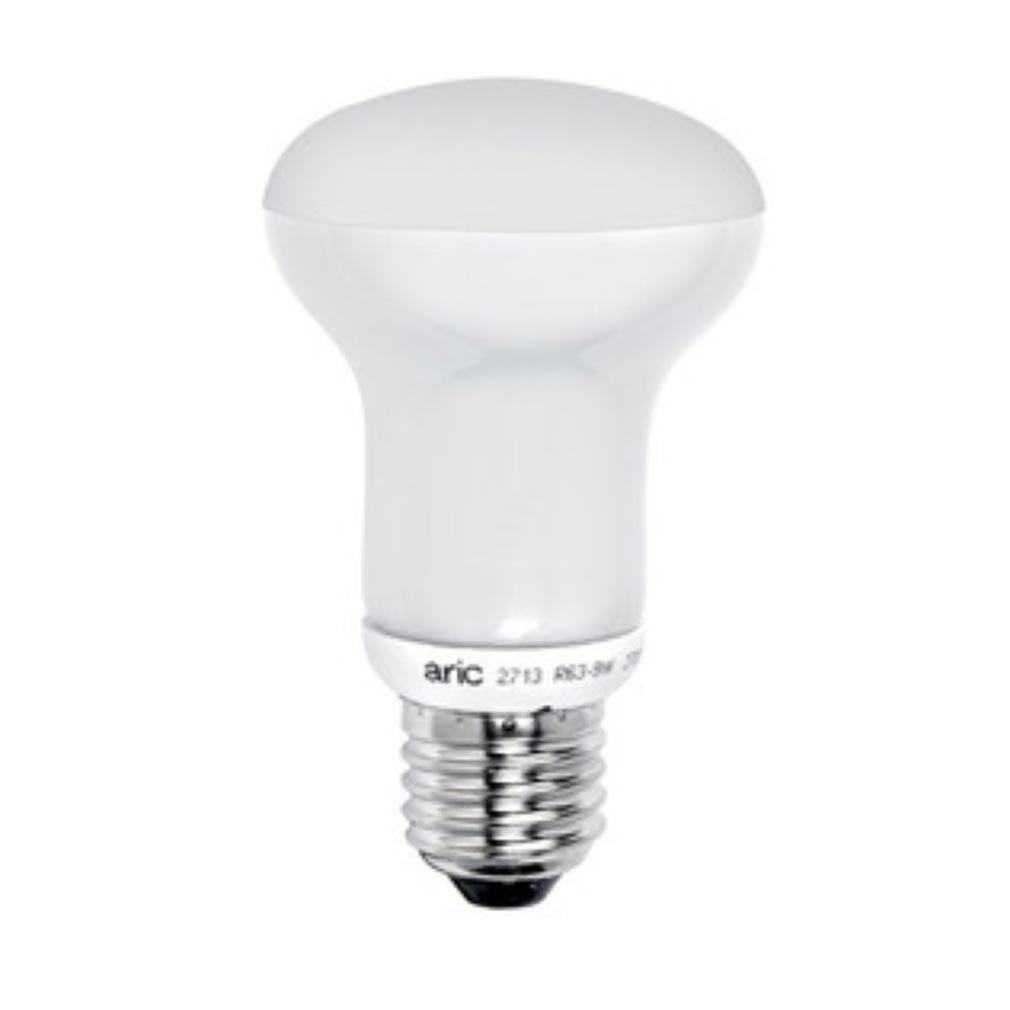 Aric - ARI2988 - ARIC 2988 - Lampe réflecteur D=80 E27 LED 8W 2700K 730 lumens, classe énergétique A+, 35000H