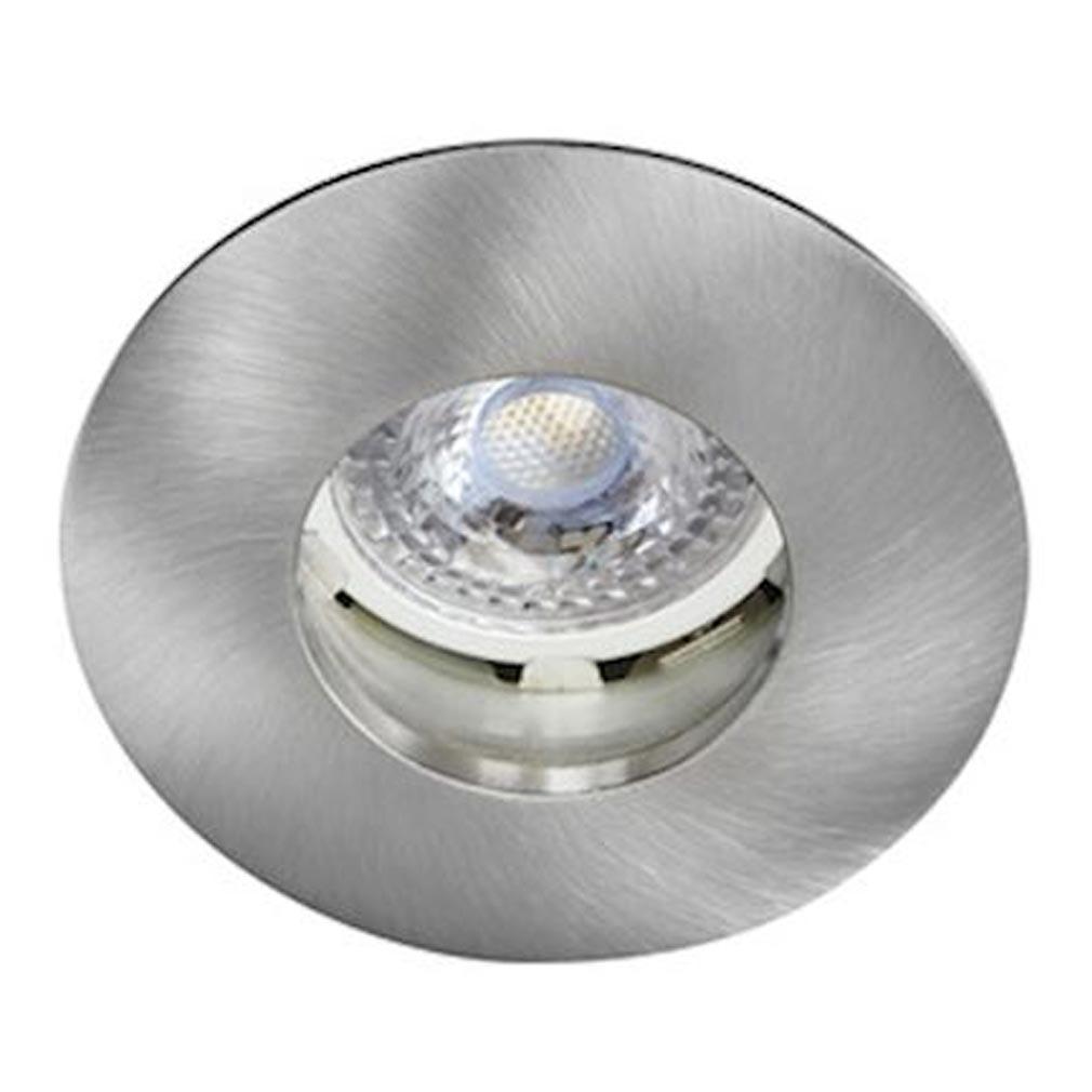 Aric - ARI4077 - ARIC 4077 - HIDRO - Encastré GU10, IP20/65, Vol.2, rond, fixe, nickel, lampe non incluse