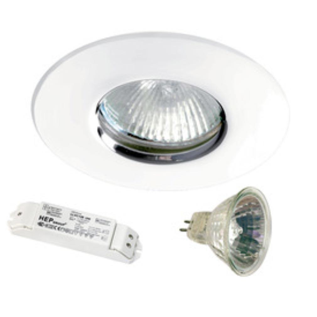 Aric - ARI4095 - ARIC 4095 - KIT HIDRO - Encastré halogène TBT pour salle d'eau (autorisé Volume 1)