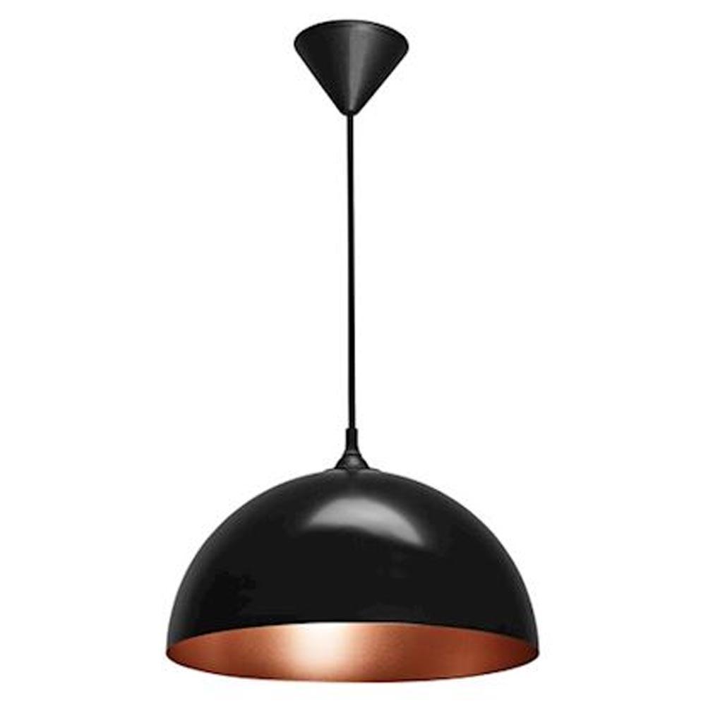 Aric - ARI4210 - ARIC 4210 - COMO - Suspension E27 60W max, D=335mm, acier noir