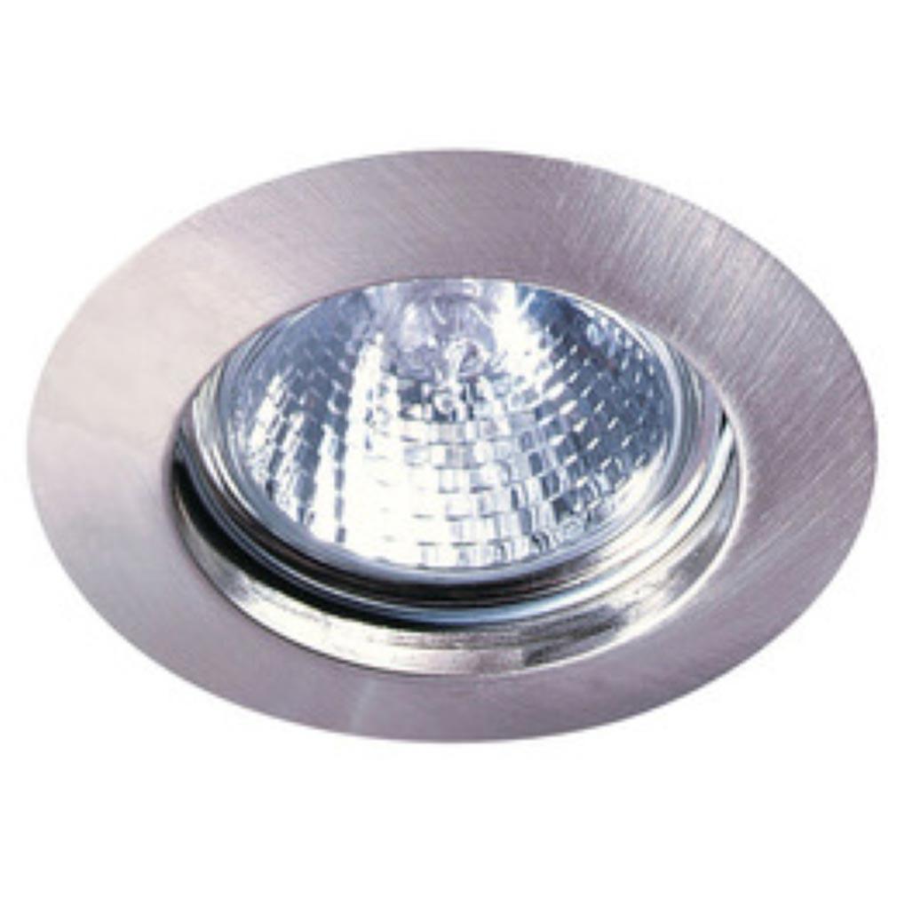 Aric - ARI4882 - ARIC 4882 - DISK - Encastré GU10, rond, fixe, nickel