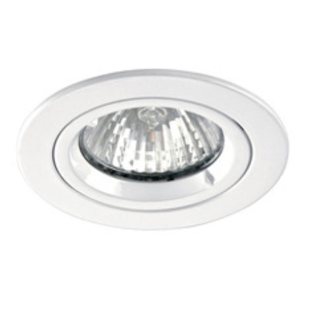 Aric - ARI4893 - ARIC 4893 -  SPEED 50 R 230 - Encastré GU10, rond, fixe, blanc