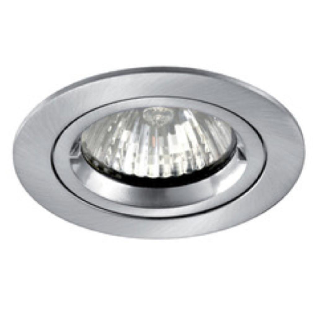 Aric - ARI4894 - ARIC 4894 - SPEED 50 R 230 - Encastré GU10, rond, fixe, nickel