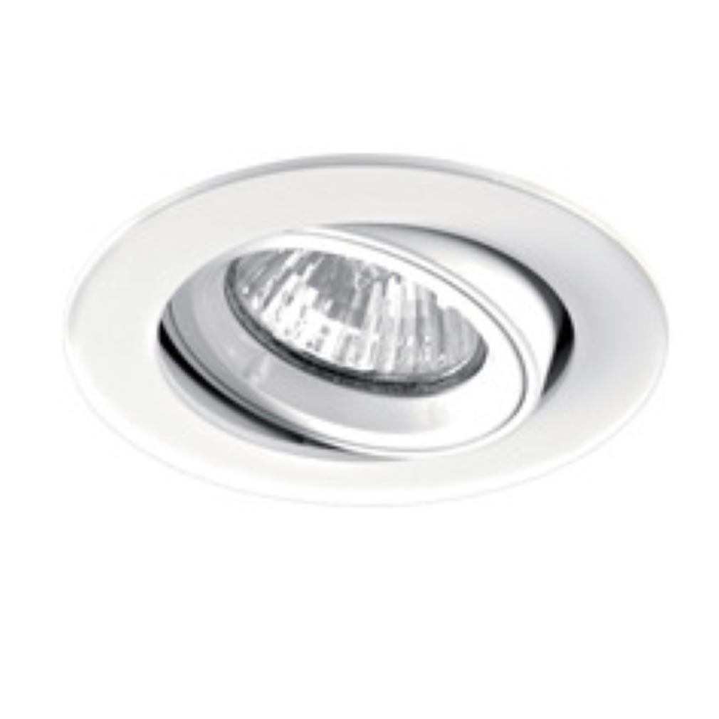 Aric - ARI4895 - ARIC 4895 - SPEED 70 R 230 - Encastré GU10, rond, basculant, blanc