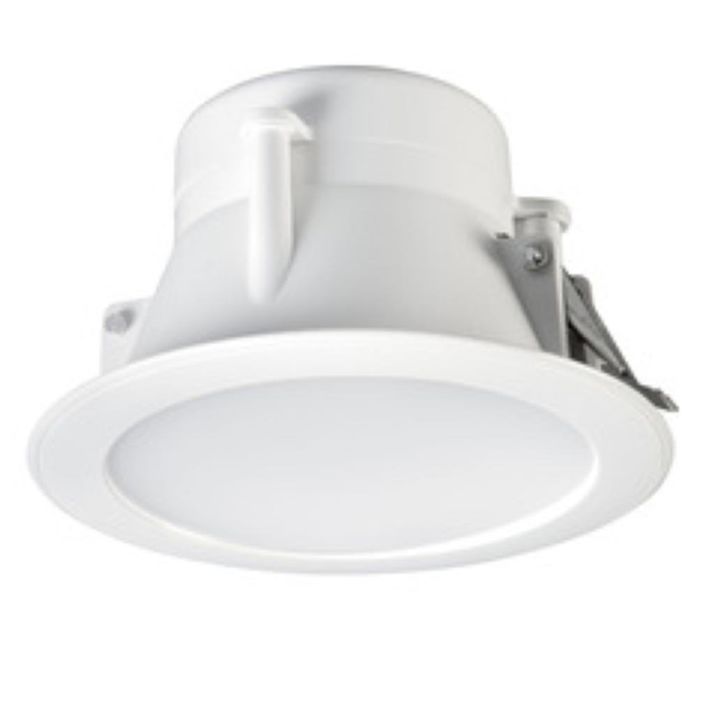 Aric - ARI50040 - ARIC 50040 - BIRDY - Downlight IP44, rond, fixe, 115DEG, LED intégrée 11W 4000K 845 lumens