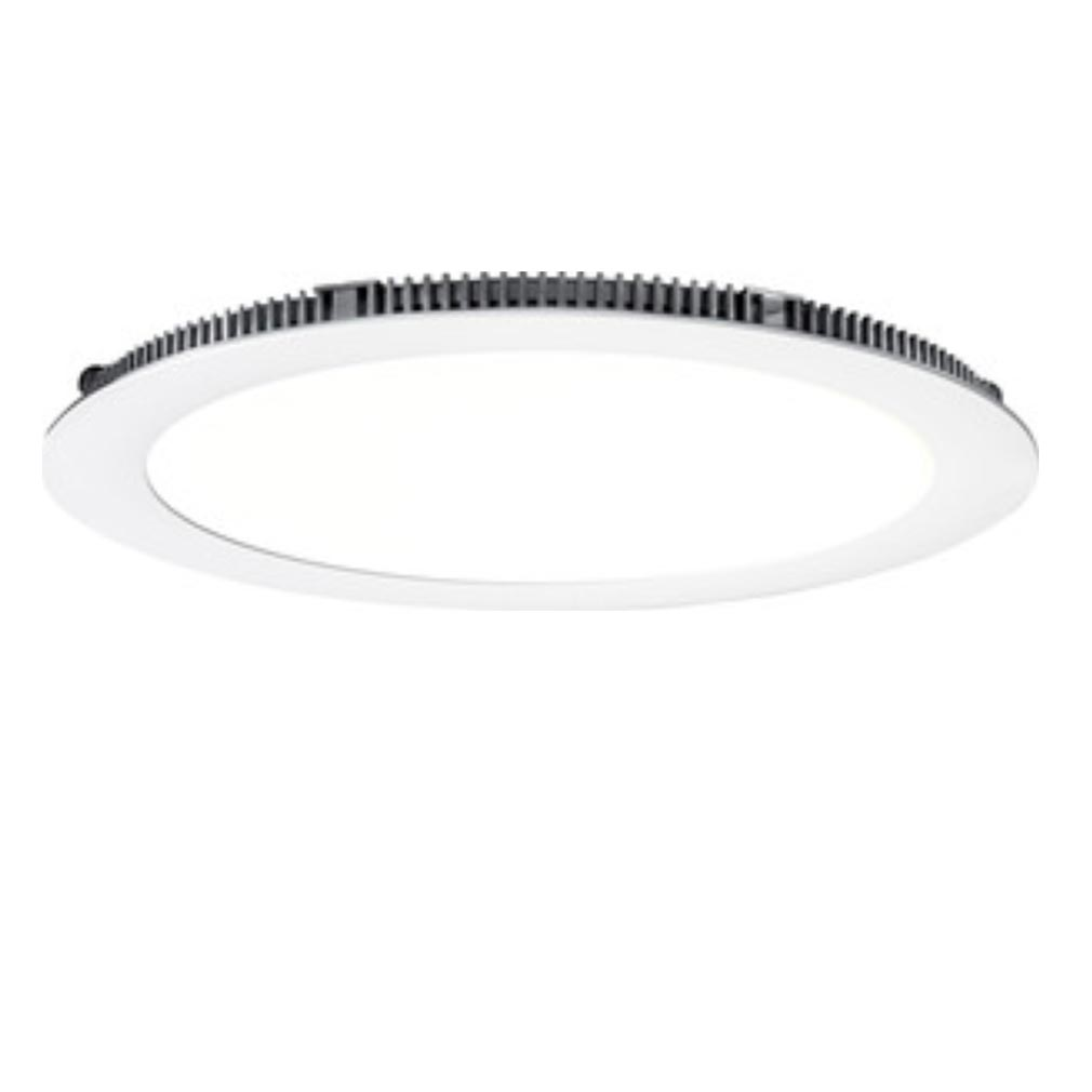 Aric - ARI50081 - ARIC 50081 - FLAT LED - Downlight plat, rond, fixe, blanc, 110DEG, LED intégrée 13W 4000K 980 lumens