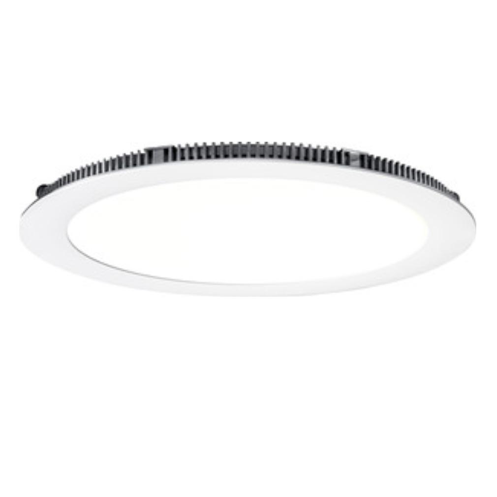 Aric - ARI50082 - ARIC 50082 - FLAT LED - Downlight plat, rond, fixe, blanc, 110DEG, LED intégrée 20W 4000K 1700 lumens