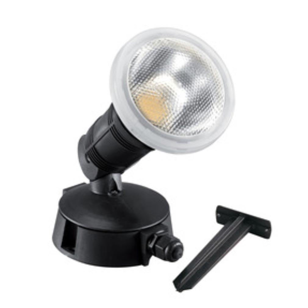 Aric - ARI50097 - ARIC 50097 - DAFNEE LED - Projecteur Extérieur E27 IP65 IK08, avec lampe LED 15W 4000K 1350 lumens fournie
