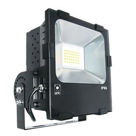 Aric - ARI50118 - ARIC 50118 - Projecteur Extérieur LED IP65 IK08, noir, symétrique, faisceau 110 DEGRES