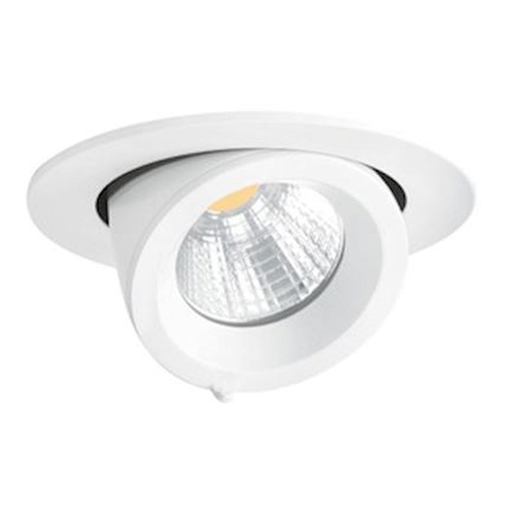 Aric - ARI50123 - ARIC 50123 - RANDY 1 - Downlight rond, orientable, blanc