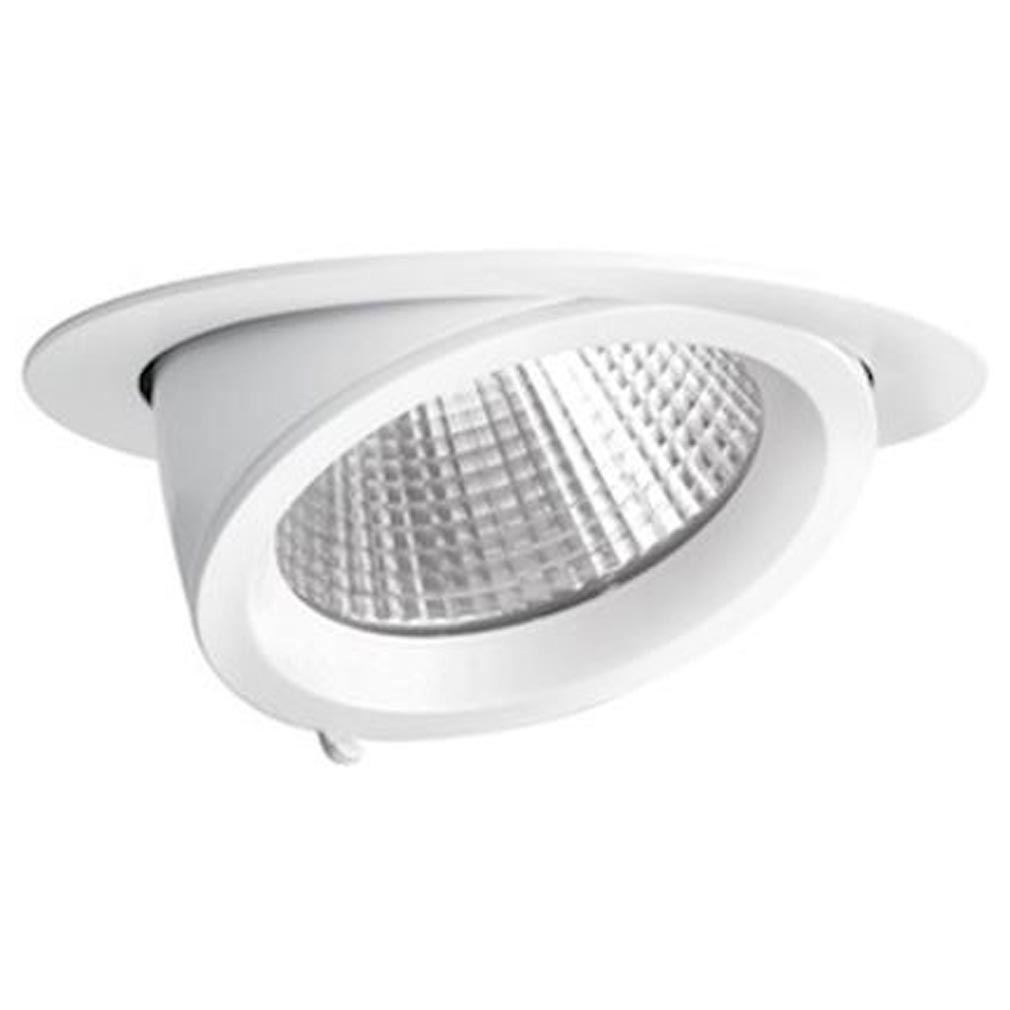 Aric - ARI50125 - ARIC 50125 - RANDY 3 - Downlight rond, orientable, blanc