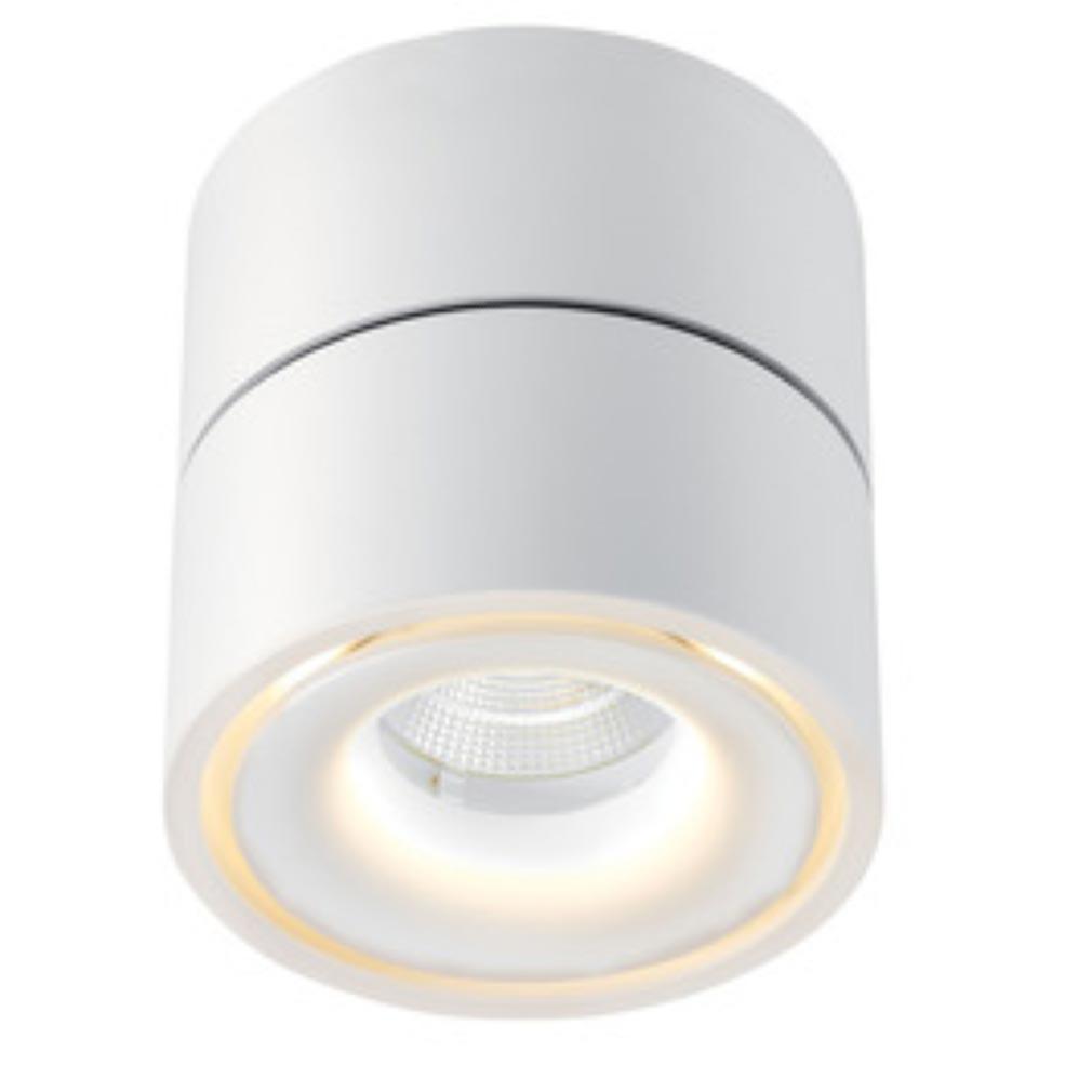 Aric - ARI50160 - ARIC 50160 - TAHITI - Applique murale, orientable, blanc, LED intégrée 10W 3000K 710 lumens, indirect