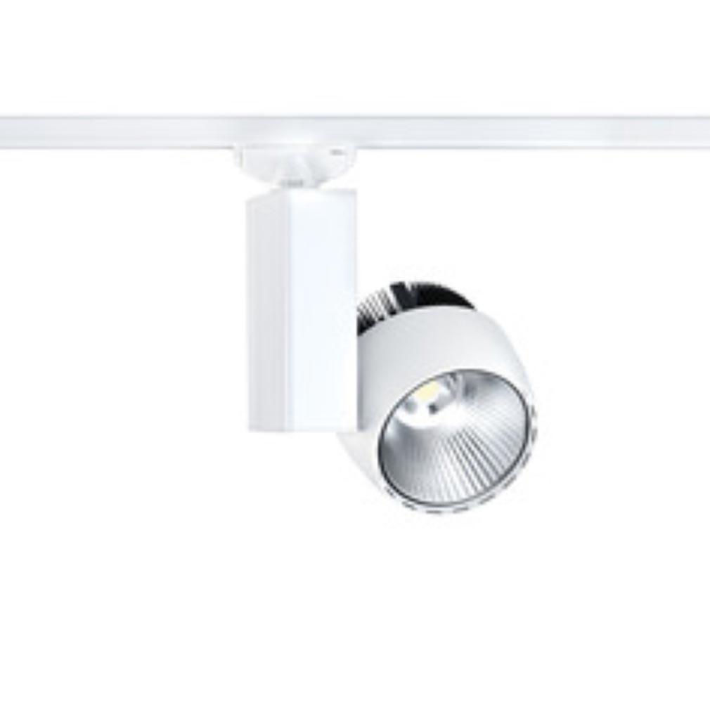 Aric - ARI50175 - ARIC 50175 -  IKAR 023 - Projecteur Rail 3 allumages 023, blanc