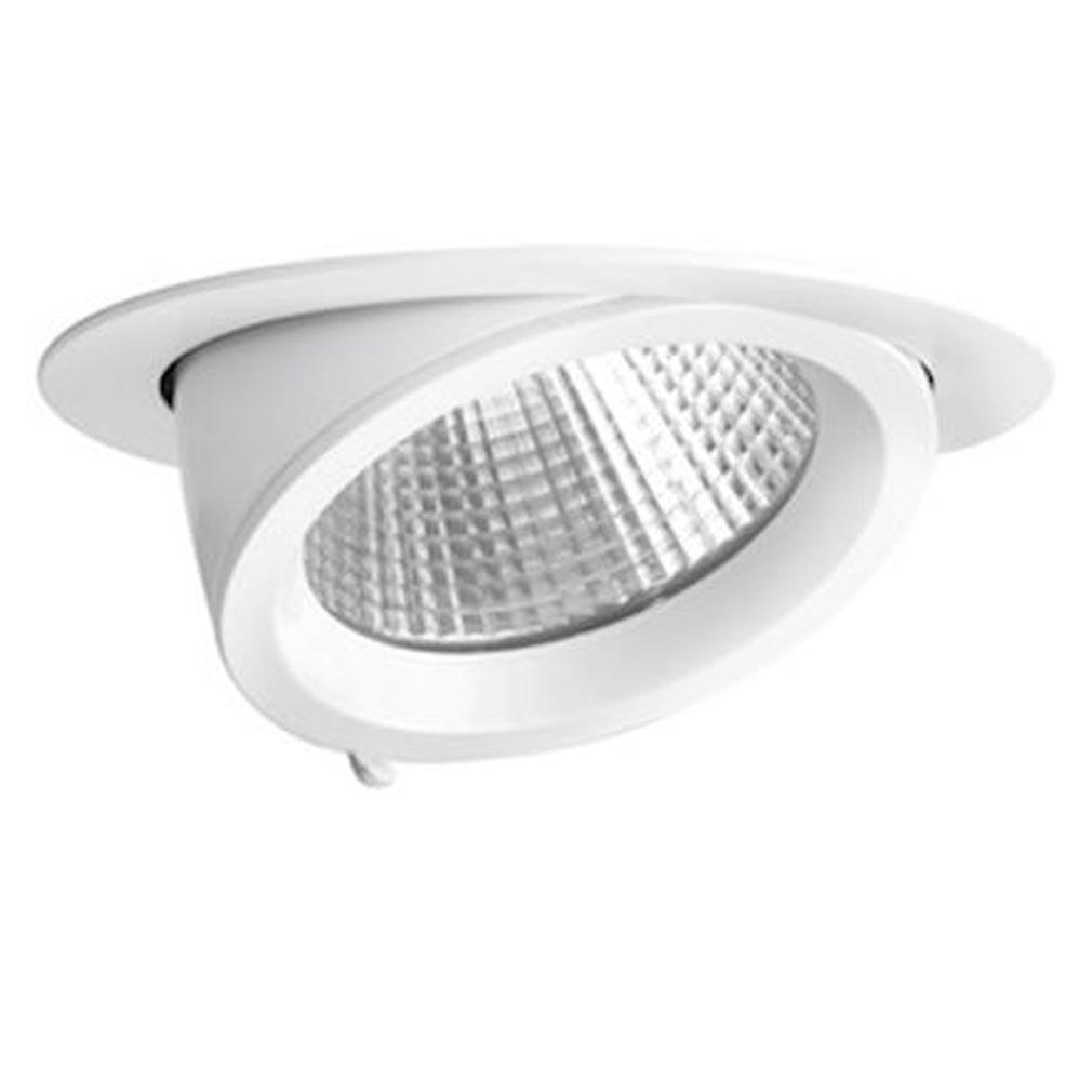 Aric - ARI50194 - ARIC 50194 - RANDY 4 - Downlight rond, orientable, blanc