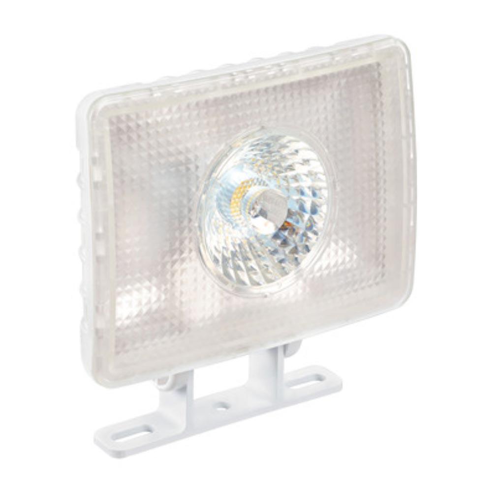 Aric - ARI50230 - ARIC 50230 - ELFI - Projecteur Extérieur IP65 IK07, blanc, faisceau 60DEG, LED intégrée 10W 4000K 1000 lumens