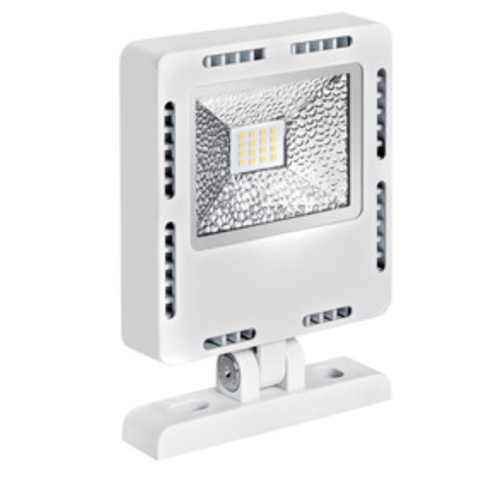 Aric - ARI50291 - ARIC 50291 - FALCON - Projecteur Extérieur IP65 IK08, blanc, faisceau 110DEG, LED intégrée 25W 4000K 2500 lumens