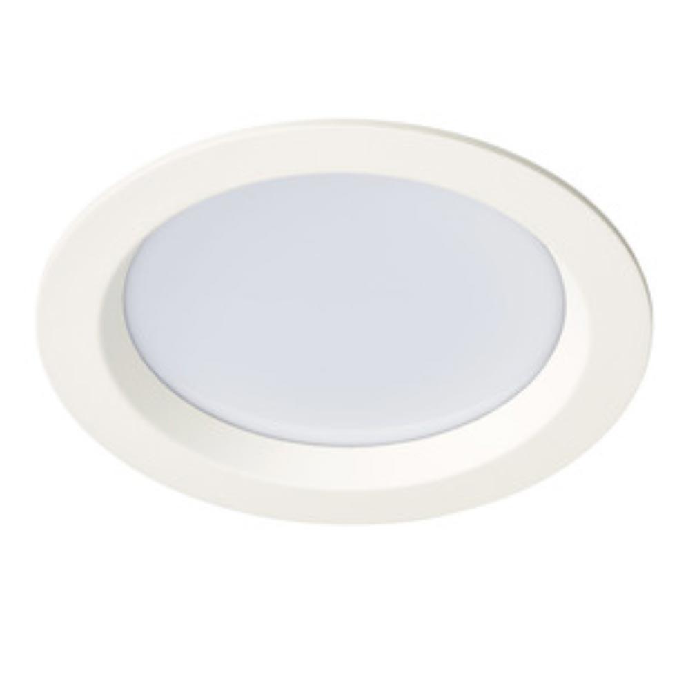Aric - ARI50301 - ARIC 50301 - START 230 - Downlight rond, fixe, blanc, 105DEG, LED intégrée 22W 4000K 1600 lumens
