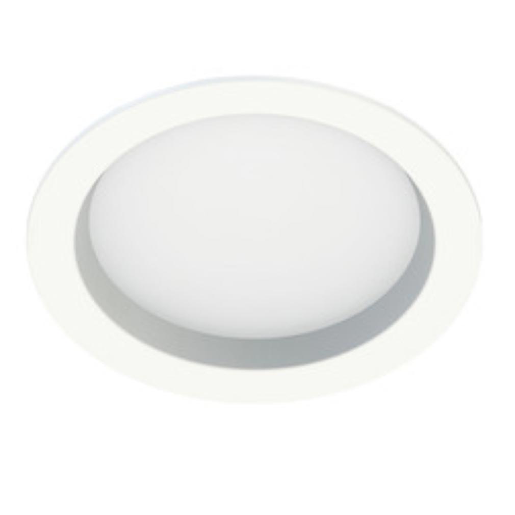 Aric - ARI50317 - ARIC 50317 - START 230 - Downlight rond, fixe, blanc, 105DEG, LED intégrée 22W 3000K 1600 lumens