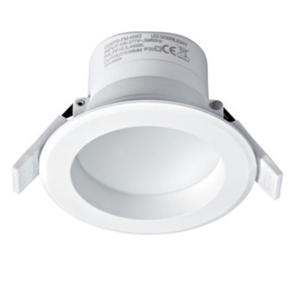Aric - ARI50332 - Spot encastré LED Grace 5 - 5W - 4000K - Blanc - IP44
