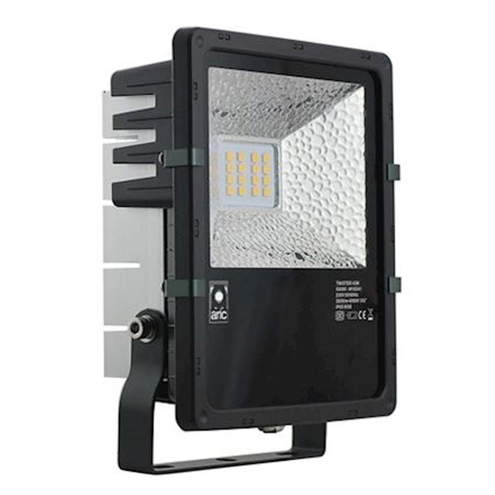 Aric - ARI50349 - ARIC 50349 - TWISTER 45 - Projecteur Extérieur IP65 IK08, noir